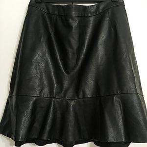 Sale! Ricki's Vegan Leather Skirt